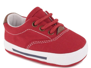 Milo Red Baby Canvas Sneaker