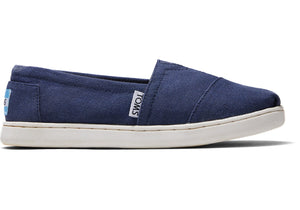 Navy Canvas Classic Youth Toms