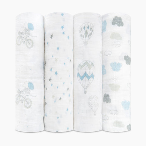 Night Sky Reveries 4 pack Classic Swaddle