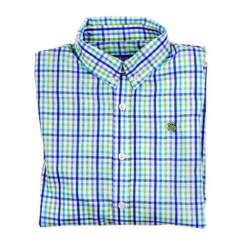 Pinwheel button down shirt