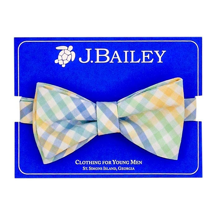 Pier Plaid Bow Tie
