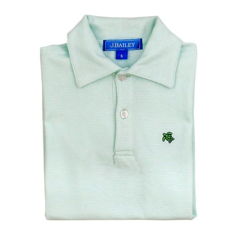 Seaglass Stripe Polo
