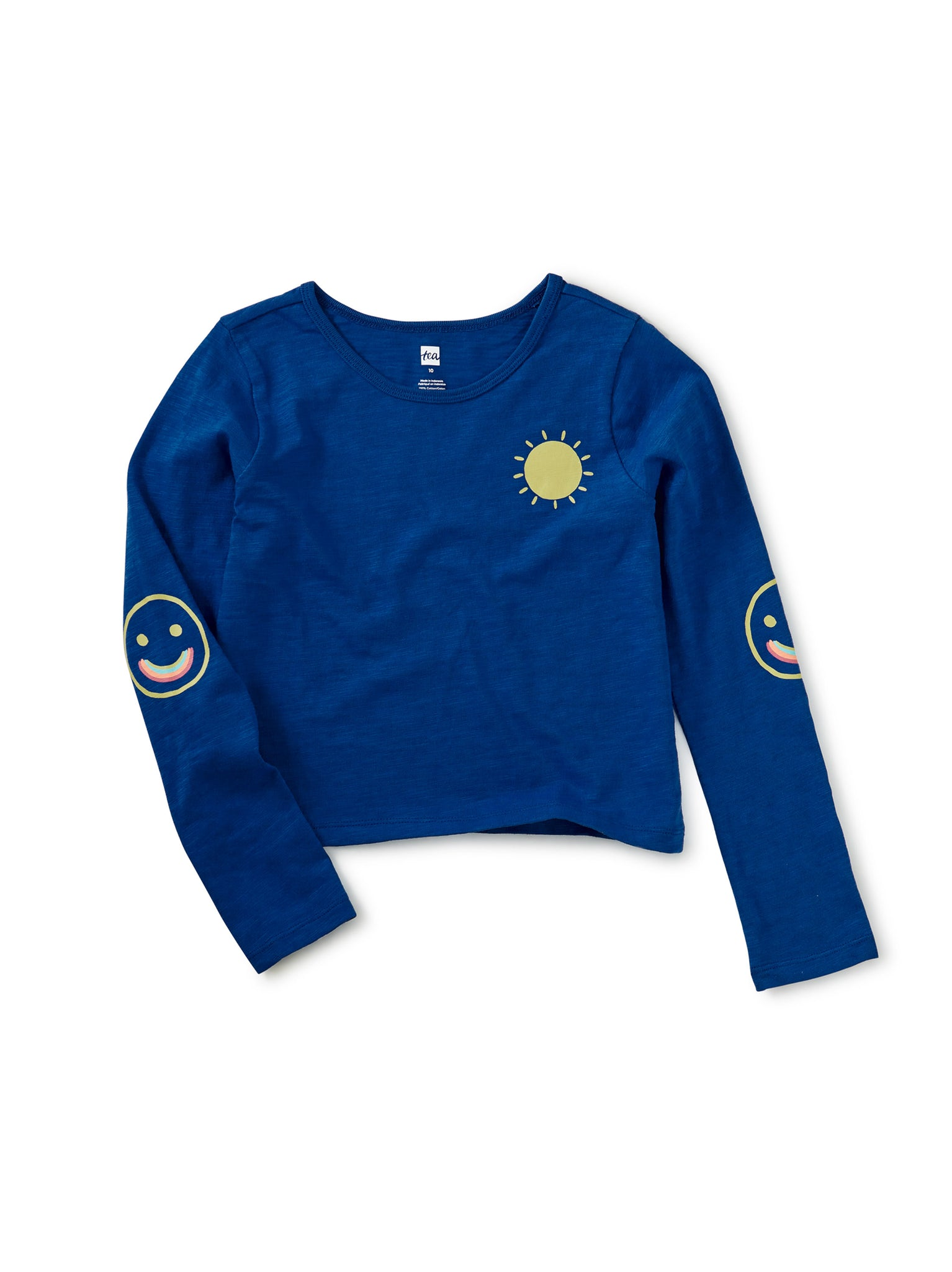 Sunshine Elbow Patch Tee