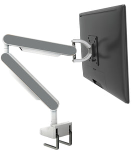 Zgo Technologies, Single Monitor Arm. White With Red Side Panels.