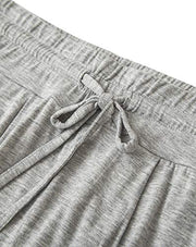 Dressystar Grey Women Loungewear Sleepwear Set for Summer