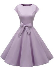 Dressystar Vintage 1950s Retro Cocktail Party Dress Lavender