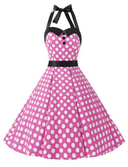 Polka Dot Retro 50's 60's Vintage Dress