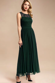 Dressystar women sleeveless maxi formal dress 0046 darkgreen main