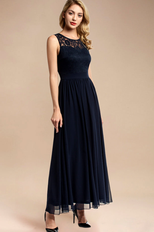 Dressystar women sleeveless maxi formal dress 0046 navy more