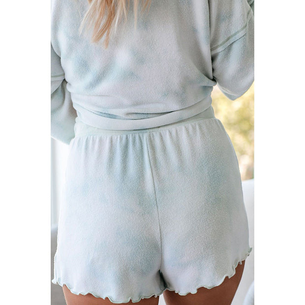 Tie-Dye Lounge Set Blue