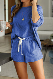 Soft Lounge Set Blue