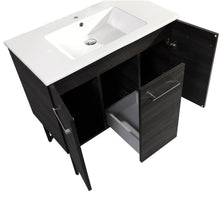 "Load image into Gallery viewer, Bathroom Vanity - Annecy 36"" Single White Two Doors, One Drawer, Bathroom Vanity"