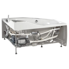 Load image into Gallery viewer, Bathtubs - EAGO AM168ETL 5 Ft Rounded Corner Acrylic Whirlpool Bathtub For Two