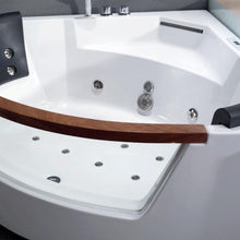 Load image into Gallery viewer, Bathtubs - EAGO AM197ETL 5 Ft Clear Rounded Corner Acrylic Whirlpool Bathtub For Two