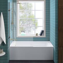"Load image into Gallery viewer, Bathtubs - SM-AB545 Ivy 60"" X 30"" Alcove Soaking Tub With Apron Skirt Right Hand"