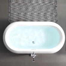 "Load image into Gallery viewer, Bathtubs - SM-FB577 Plaisir 63"" Freestanding Bathtub"