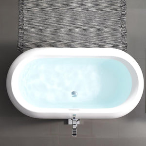 "Bathtubs - SM-FB577 Plaisir 63"" Freestanding Bathtub"