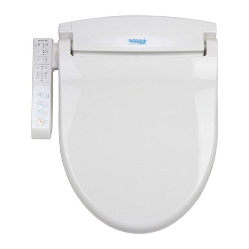 Bidets - Nova 1000 Electric Bidet Seat With Left Side-Arm Control Panel