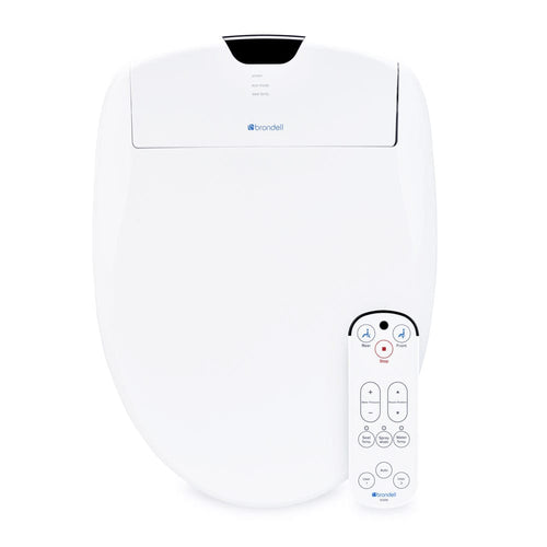 Bidets - Swash S1200 Luxury Automatic Remote Control Bidet Seat W/Night Light