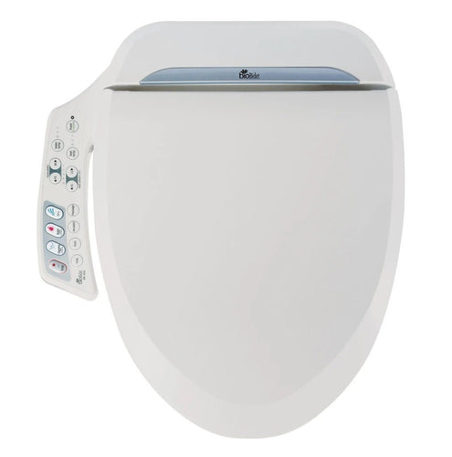 Bio Bidet - Bio Bidet BB-600 Ultimate Luxury Bidet Seat With Message Modes And Aerated Bubble Technology - Side Panel Control
