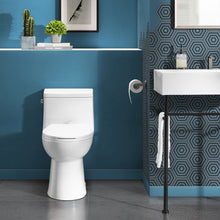 Load image into Gallery viewer, Dual Flush Toilet - SM-1T122 Avallon One Piece Elongated Dual Flush Toilet 0.8/1.28 Gpf