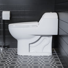 Load image into Gallery viewer, Dual Flush Toilet - SM-1T803 Chateau One Piece Elongated Toilet Dual Flush 0.8/1.28 GPF