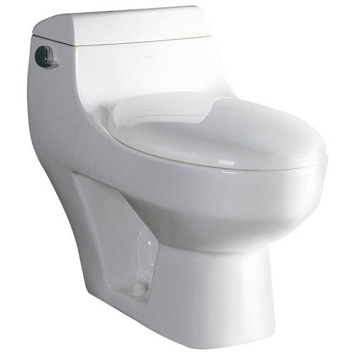 One Piece Toilet - EAGO TB108 One Piece High Efficiency Low Flush Eco-friendly Ceramic Toilet