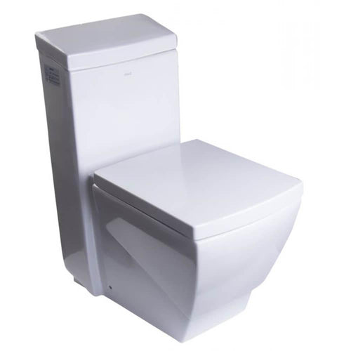 One Piece Toilet - EAGO TB336 One Piece High Efficiency Low Flush Eco-friendly Ceramic Toilet