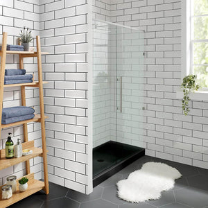 "Shower Base - Voltaire SM-SB508 48"" X 36"" Acrylic Single-Threshold Shower Base"