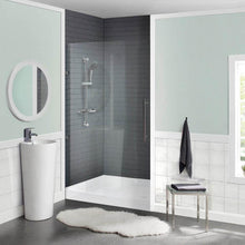 "Load image into Gallery viewer, Shower Base - Voltaire SM-SB511 36"" X 36"" Acrylic Single-Threshold, Center Drain, Shower Base"