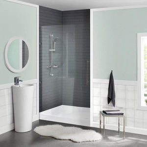 "Shower Base - Voltaire SM-SB511 36"" X 36"" Acrylic Single-Threshold, Center Drain, Shower Base"