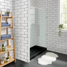 "Load image into Gallery viewer, Shower Base - Voltaire SM-SB533 60"" X 30"" Black Acrylic Single-Threshold Shower Base"