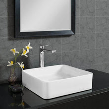 Load image into Gallery viewer, Vessel Sink - SM-VS232 Concorde Ceramic Square Vessel Sink