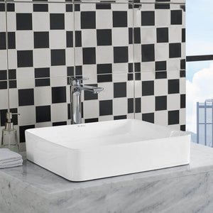 Vessel Sink - SM-VS242 Concorde Rectangle Ceramic Vessel Sink