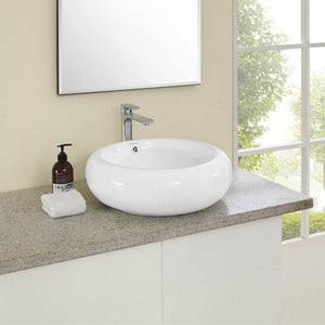 Vessel Sink - SM-VS262 Plaisir Round Vessel Sink