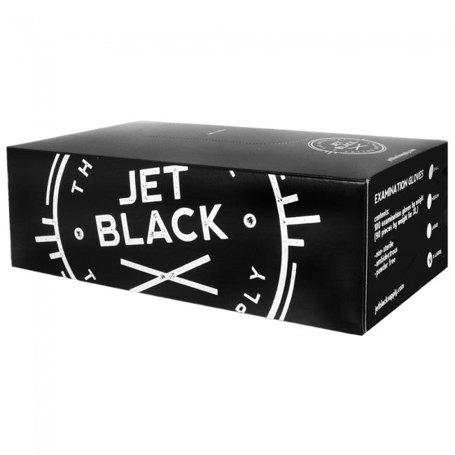 Jet Black Gloves - X Large