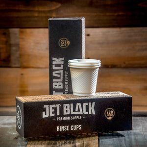 Jet Black Rinse Cups 5.5oz 250ct