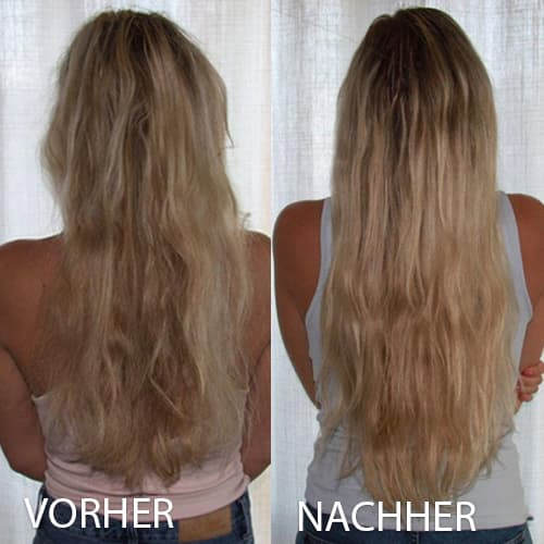 hairlust hair vitamins before and after image