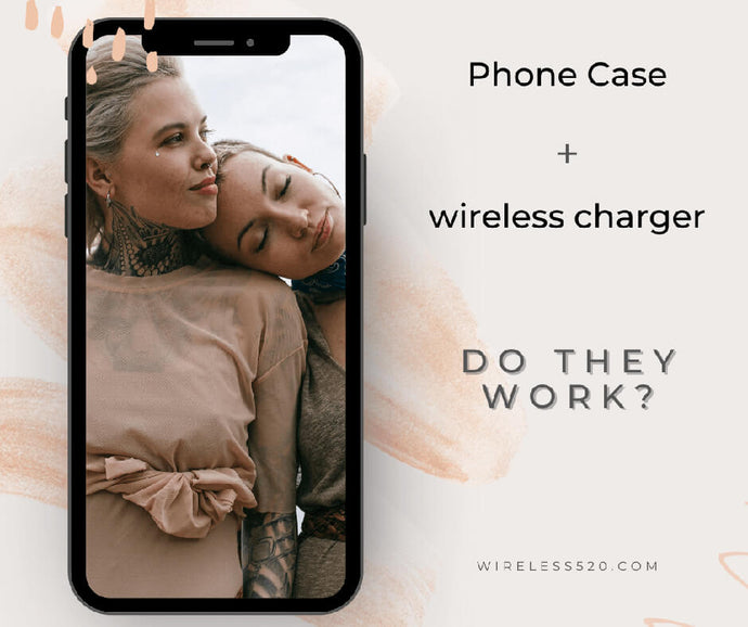 Does Qi wireless charging work with a case?