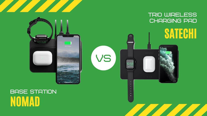 Satechi VS Nomad: Which 3- in-1 Wireless Charger is Better?