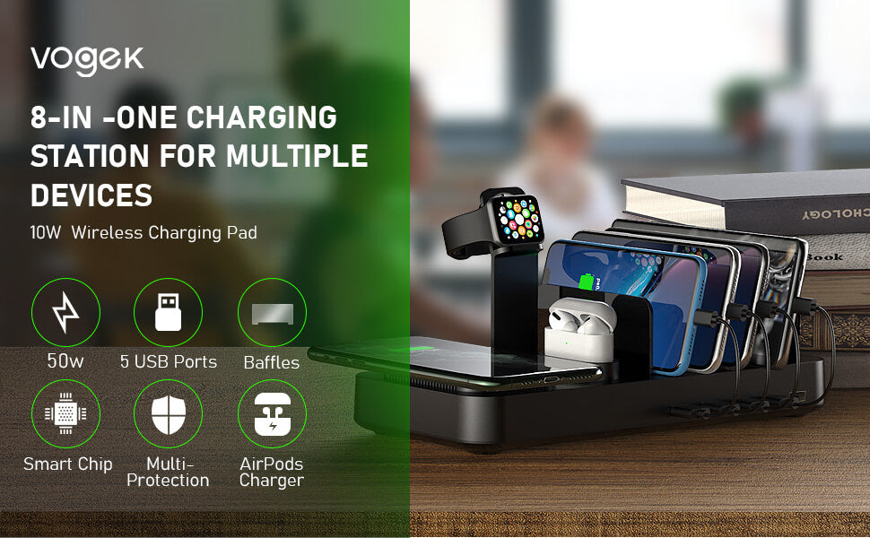 Wireless Charging Station for Multiple Devices