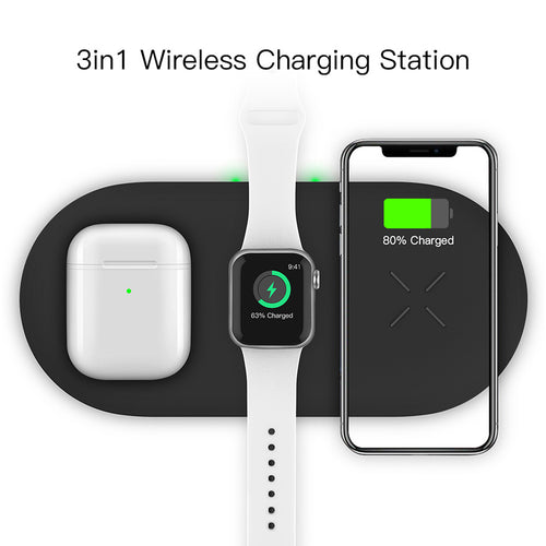 wireless charging pad 3 in 1