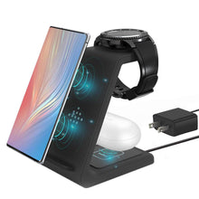 Load image into Gallery viewer, 3 in 1 charging station stand with power adaptor