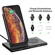 Load image into Gallery viewer, wireless charger 3 in 1