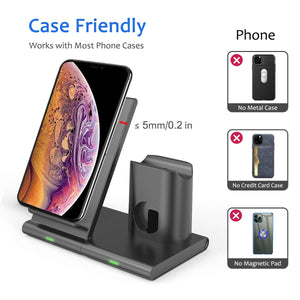 iphone wireless charger stand