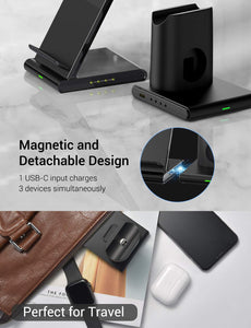 iphone wireless charger station