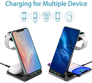 3 in 1 charging station stand