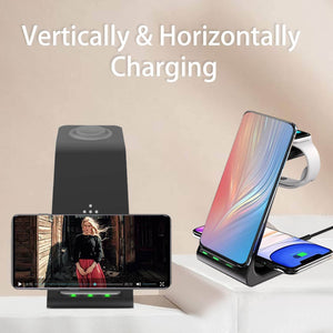 3 in 1 charging station stand airpods pro