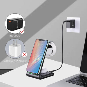 apple 3 in 1 charging station stand