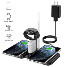 Load image into Gallery viewer, SINREGeek 4in1 best wireless charger dual pad design(0 bad Reviews) - Wireless520